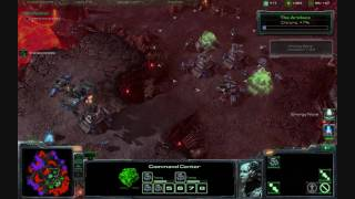 "Starcraft 2 Wings of Liberty: Final Mission ""All In"" Hard difficulty & Aces High Acheivement PART 1"