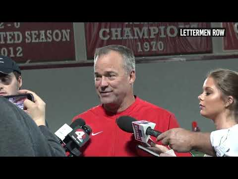 Bill Davis: Ohio State linebackers coach talks about the play of his unit - October 17, 2018