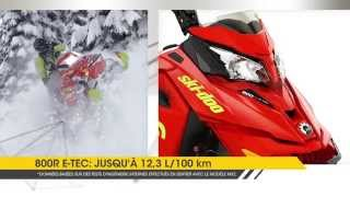 Moteur Rotax E-TEC de Ski-Doo 2016