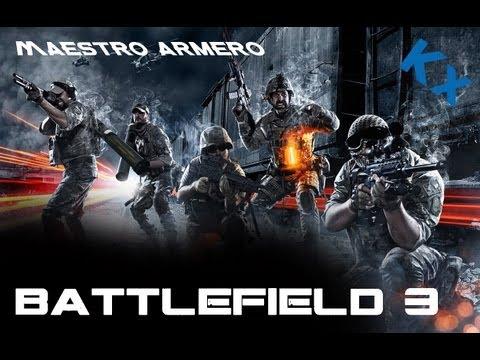 Battlefield 3 | Maestro Armero | Live con Vaxx94 + reaccion extraña !