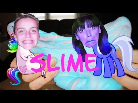 comment faire du slime fluffy licorne youtube. Black Bedroom Furniture Sets. Home Design Ideas