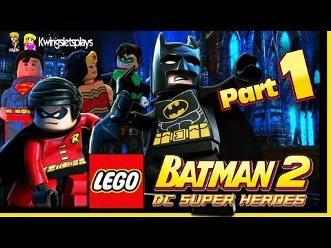 Lego Batman 2 Walkthrough Wii U Part 1 Theatre Encore Youtube