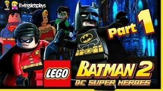 Lego Batman 2 - Walkthrough Wii U Part 1 Theatre Encore