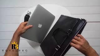 Обзор на кожаную сумку Tiding Bag / M664-4A / Royalbag