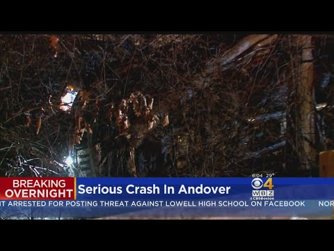 Serious Crash In Andover Sends 1 To The Hospital