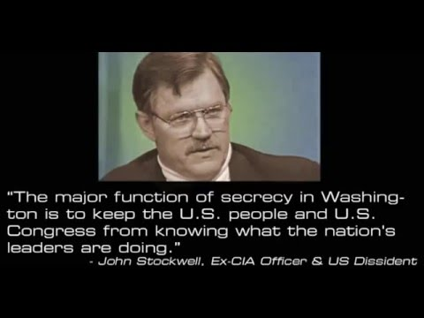 John Stockwell: The New World Order and the Gulf War