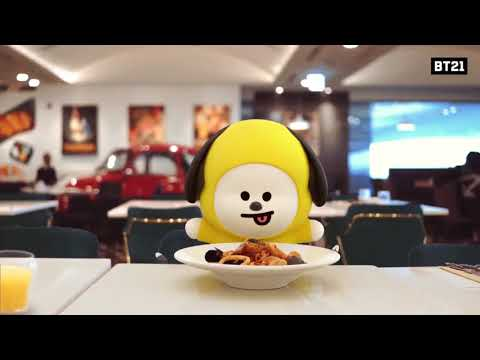[Full] BT21 ANIMATION AT AIRPORT