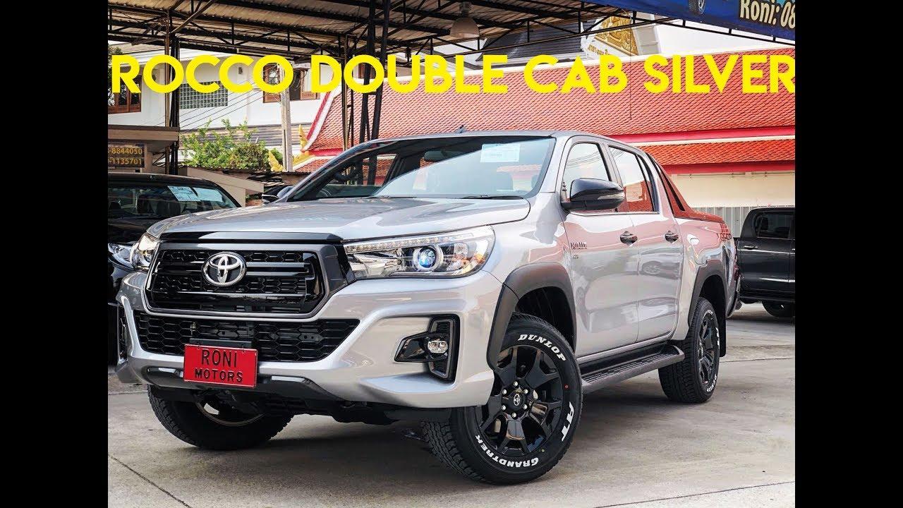 Toyota Hilux Revo 2018 Thailand >> 2018 Toyota Hilux Revo Rocco Silver 4x4 | Thailand Exporter - YouTube