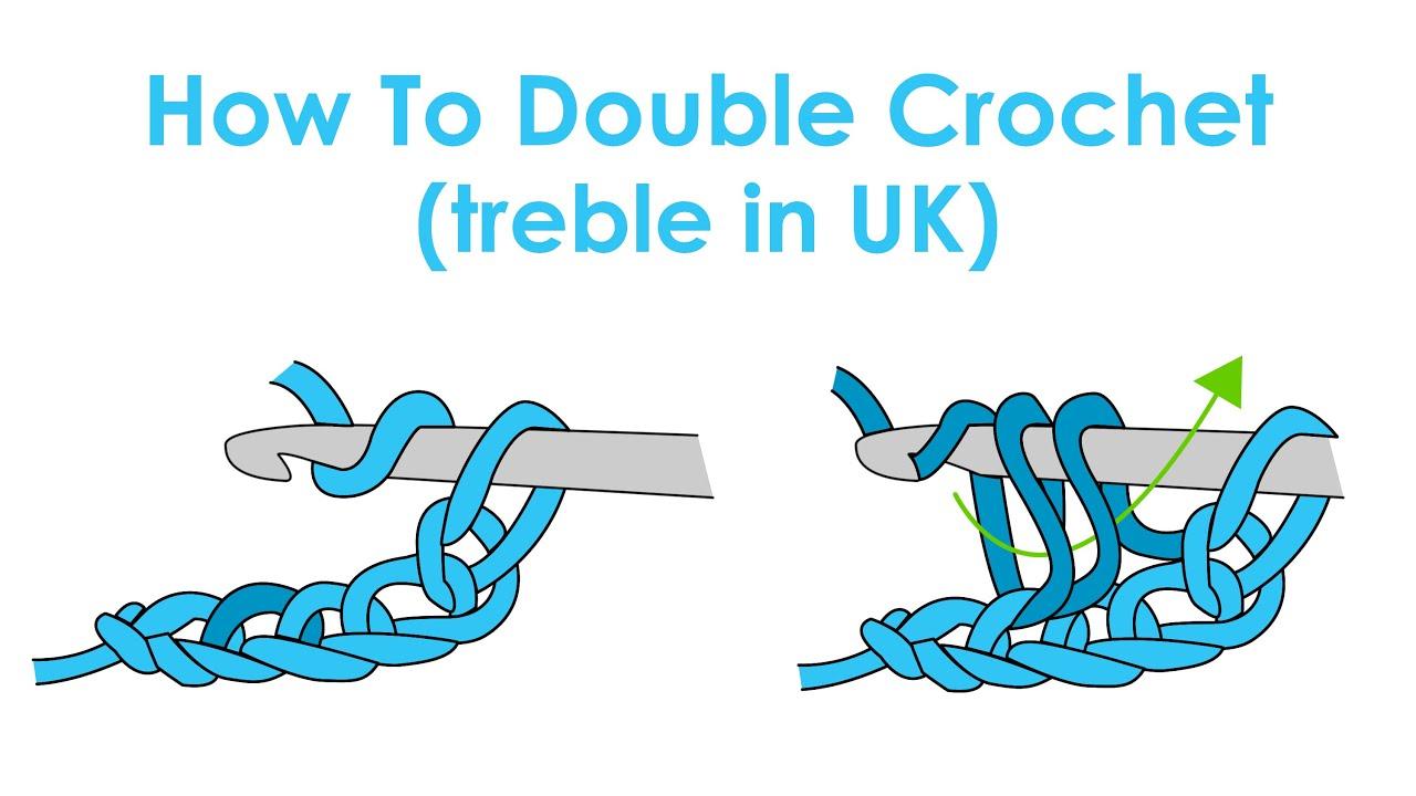 How to Double Crochet (Treble Crochet in UK) - Crochet ...