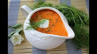 Как приготовить и заморозить томатно-сметанный соус для голубцов