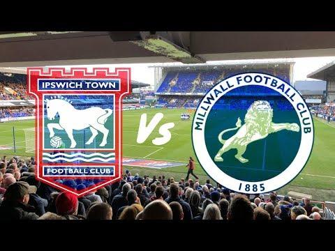 Ipswich Town vs Millwall 1st January 2019 (MATCH DAY VLOG)