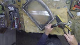 Replace wood stove door gasket - Lopi wood stove
