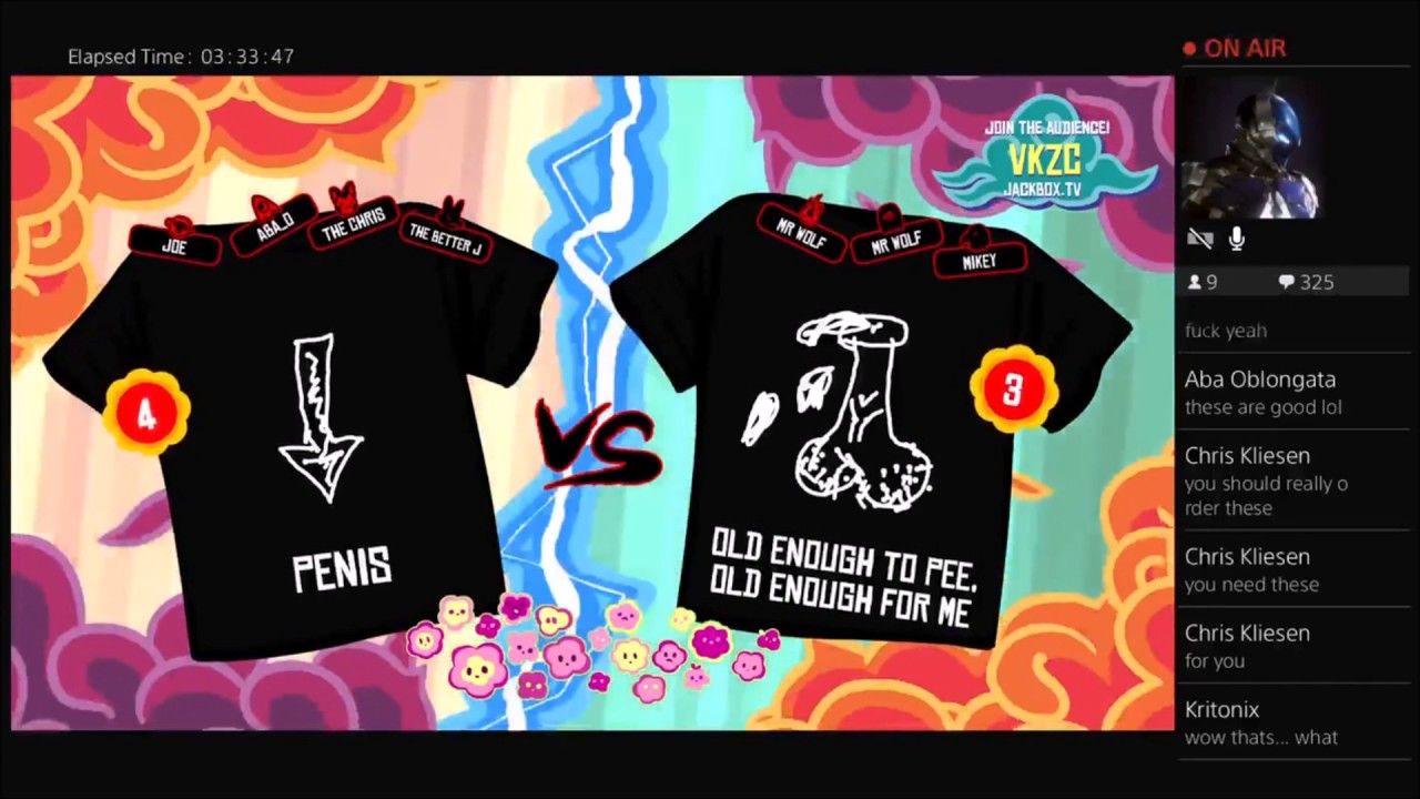 59d34f1d3 Tee K.O. - Jackbox Party Pack - Best T-Shirt Design Ever! - YouTube