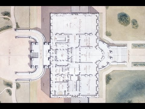White House Blueprint (Election Day Special) - Benjamin Latrobe (1807)