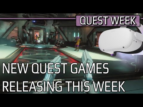 THIS WEEK ON QUEST | New Game Releases | BIG QUEST NEWS! | New Game Announcements | 08.03.2021