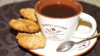 Овсяное печенье без яиц и муки. Очень вкусное.)))