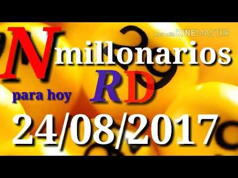 Numeros  para hoy 24/08/2017-numero millonarios
