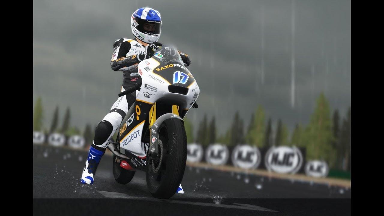 MotoGP 16 (VRTG) - JOHN McPHEE - BRNO 2016 WET RACE - GAMEPLAY - YouTube