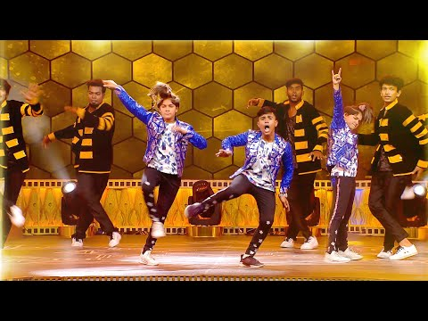 Ditya Bhande BEST Dance Performance On Stage | Ananda Vikatan Cinema Awards 2018