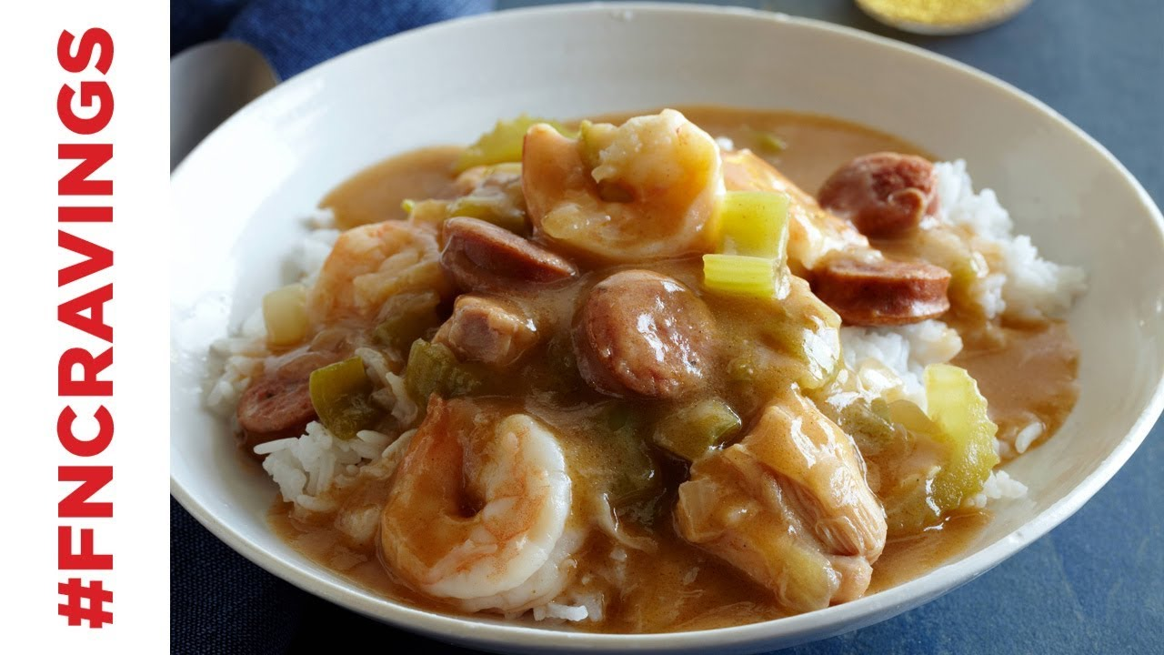 How to make gumbo food network youtube how to make gumbo food network forumfinder Images