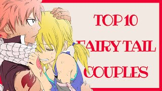 TOP 10 Fairy Tail Couples