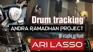 PROSES REKAM DRUM - RUNNING AWAY - ANDRA RAMADHAN PROJECT