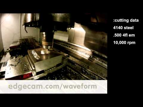 Decrease Cutting Time - Waveform Cutting at Sandvik