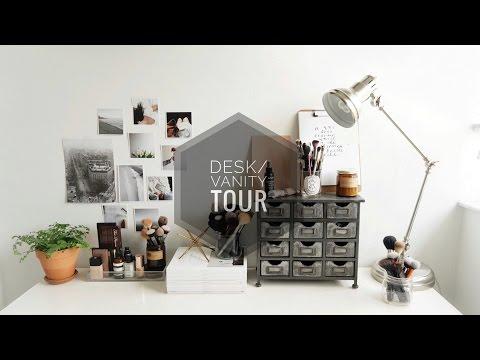 Desk/Vanity Tour | Gemary