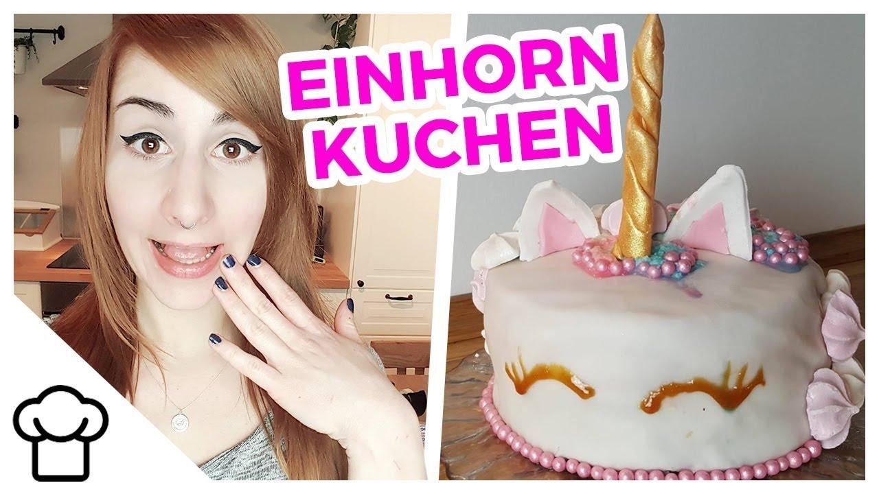 Einhorn Regenbogen Torte Diy Kupferfuchs Kuchenchaos Youtube