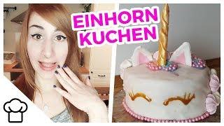 Einhorn Regenbogen Torte DIY // Kupferfuchs Küchenchaos