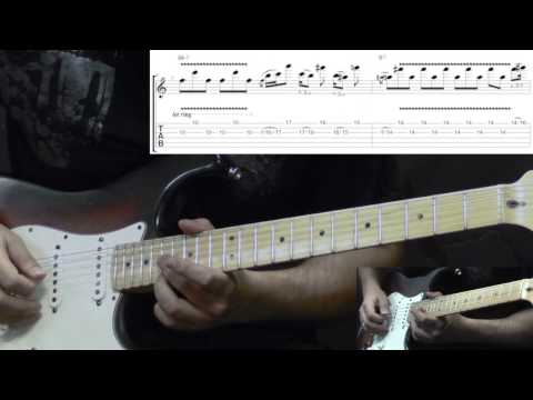 Jimi Hendrix - Red House Intro (Woodstock) - Blues Guitar Lesson (w/Tabs)