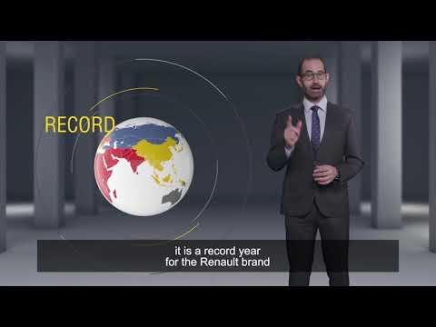 Résultats Commerciaux Monde 2017 - Nouveau record pour | Groupe Renault