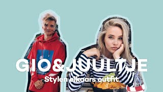 Juultje & Gio stylen elkaars (denim) outfit 👖 | GLAMOUR