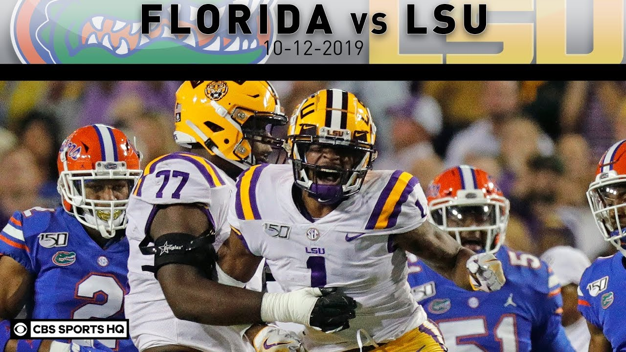 lsu vs florida 2020