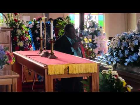 Kenneth Faison Celebrating Of Life Bro Connie Ray Shine Remarks