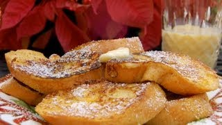{breakfast Recipe} Eggnog French Toast By Cookingforbimbos.com
