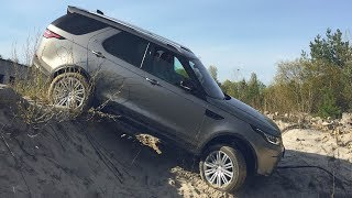 Land Rover Discovery 2017. Тест-драйв