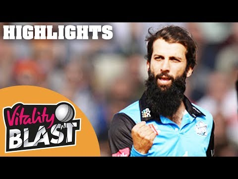 Vitality Blast 2018 FINAL | Sussex v Worcestershire - Highlights