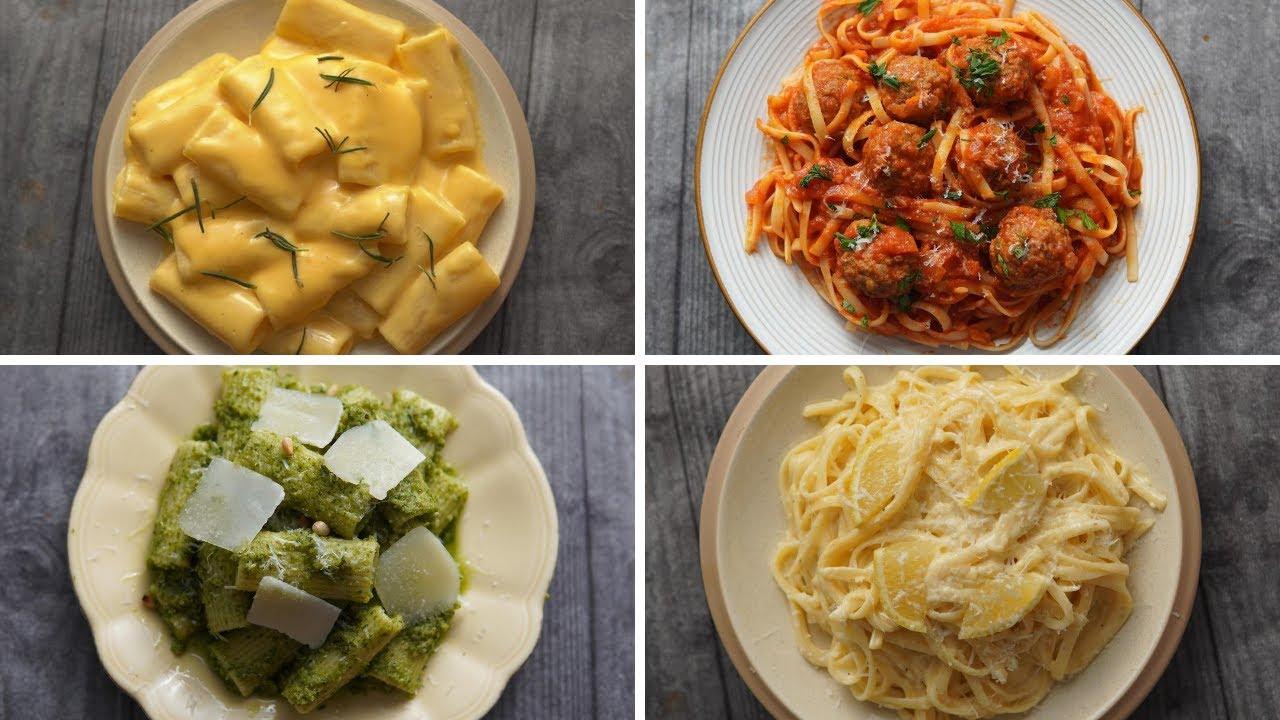 مكرونة كل يوم.. أطباق باستا رائعة من أبسط المكونات وفي أسرع وقت!