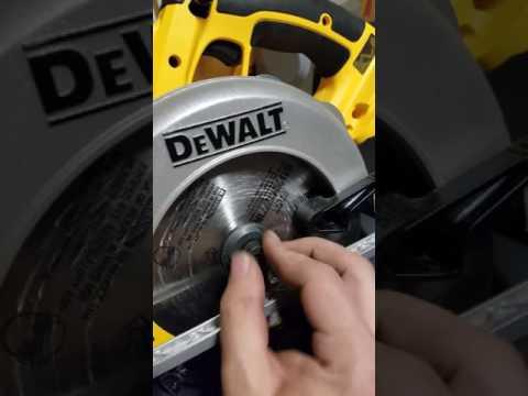 Dewalt 20v circular saw blade change