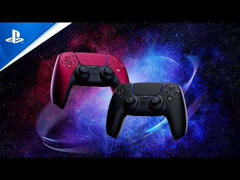 DualSense Cosmic Red & Midnight Black Reveal Trailer   PS5