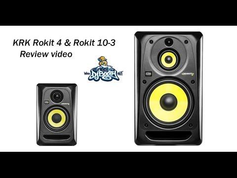 krk rokit 4 rokit 10 3 g3 powered monitor speaker review youtube. Black Bedroom Furniture Sets. Home Design Ideas
