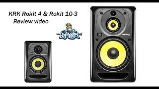KRK Rokit 4 & Rokit 10-3 G3 Powered Monitor Speaker Review