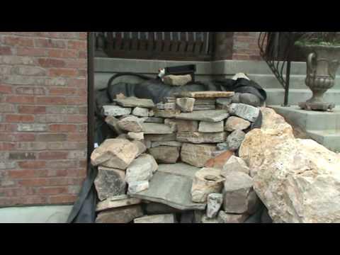 Part 4 Of 5 Stacking Rocks Construction Pondless Waterfall Utah