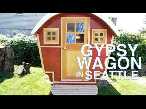 Rent THIS Gypsy Wagon (Tiny House/Cabin) In Seattle!