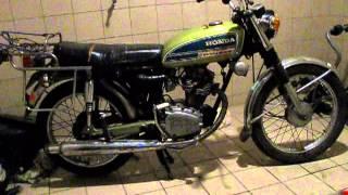 Moteur Moto Honda 125 CB S  ( 1976 )