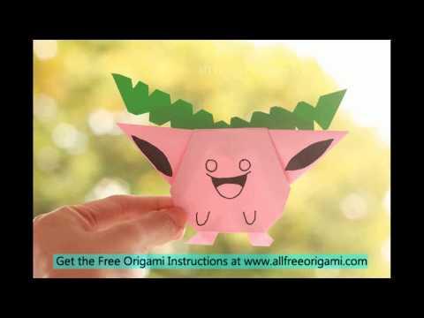 how to make origami pokemon lugia youtube