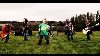 The Mini Band, Metallica's fav kid band aged 9 to 11's Official Music Video 'Ain't No Other Way' thumbnail