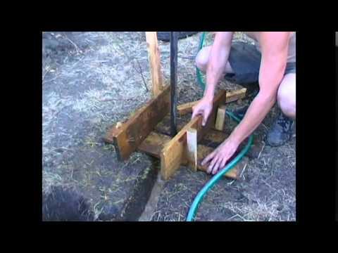 видео: Ручное бурение на воду.