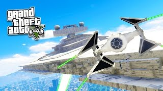 GTA 5 PC Mods - STAR WARS: THE FORCE AWAKENS MOD! GTA 5 Star Wars Mod Gameplay! (GTA 5 Mod Gameplay)